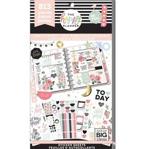 Simply Lovely Sticker Book The Happy Planner New